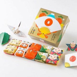 めでたきびだんご10個入り/プレーン/COCHAEのめでたい折り紙つき