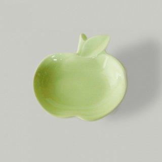 apple リンゴ小皿 ヒワ green / miyama