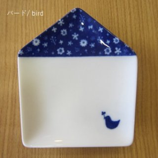 ie 小皿 バード/ bird 白磁 / miyama