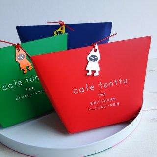カフェトントゥ ティー アップル&ローズ紅茶(赤)/ティーバッグ5包入り