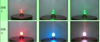 自己点滅LED豆電球 口金:E10 DC用