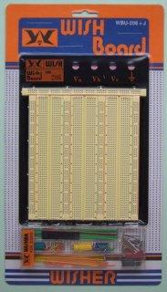 WISH製ブレッドボード WBU-206+J