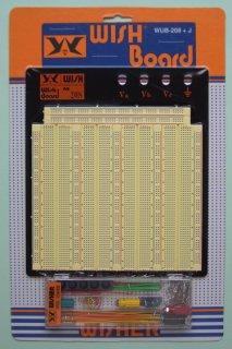 WISH製ブレッドボード WBU-208+J