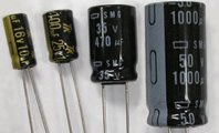 立体電解コンデンサ 耐圧50V・容量1μF