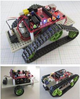 測距センサ付ロボットカー・ベースキット