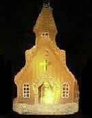 LEDガラス工芸 『イルミネーション・オブジェ』シリーズ 教会