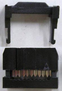 フラットケーブル用圧接ソケット (1.27ピッチフラットケーブル用)  FC−10P