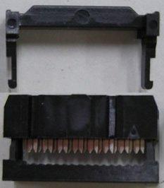 フラットケーブル用圧接ソケット (1.27ピッチフラットケーブル用)  FC−16P