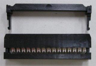 フラットケーブル用圧接ソケット (1.27ピッチフラットケーブル用)  FC−30P