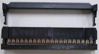 フラットケーブル用圧接ソケット (1.27ピッチフラットケーブル用)  FC−40P