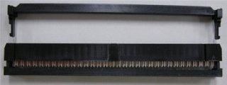 フラットケーブル用圧接ソケット (1.27ピッチフラットケーブル用)  FC−64P