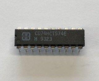 TI(旧ハリス)製 CD74HCT574E(10個)