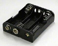 電池ボックス 単3×3