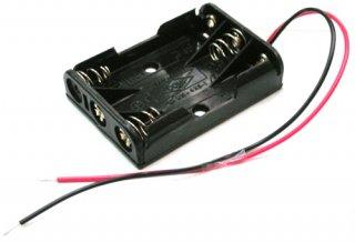 電池ボックス 単4×3 リード線付き