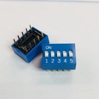 金メッキディップスイッチ DC05
