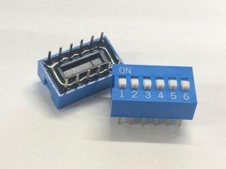 金メッキディップスイッチ DC06