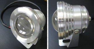 レンズ付き小型LED投光器 KDWS-10W-AC/DC12V