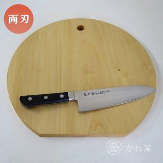 キッチンギフトセット(「宝珠」 三徳180[桐箱入り]/まな板[丸型]35cm)【イチョウ】