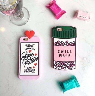 Love Potion ハート モチーフ シリコンケース  iPhone6s iPhone6 iPhone6Plus ケース スマホケースiPhone5 iPhone5s