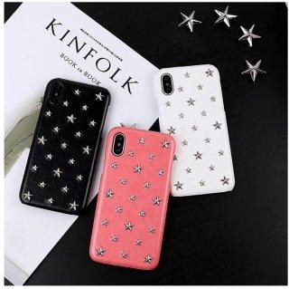 予約 3color STAR スタッズiphoneケース iphoneカバー