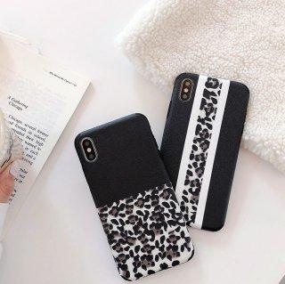 予約 2type レオパード柄 iphoneケース iphoneカバー