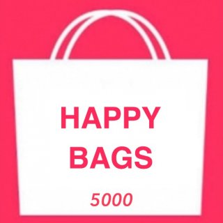 <img class='new_mark_img1' src='https://img.shop-pro.jp/img/new/icons4.gif' style='border:none;display:inline;margin:0px;padding:0px;width:auto;' />S/S HAPPY BAG 5000