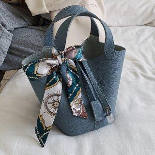 予約 7color カデナ クロシェット 付 ハンドバッグ
