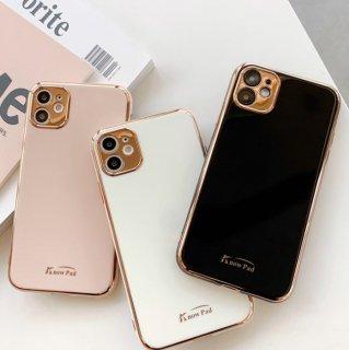 予約 6color フレームゴールド カラーパネル iphoneケース