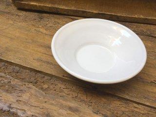 ルーマニア トランシルバニアの白い陶器 ボウルSサイズ