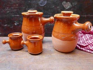 スペイン ブーニョ窯 チョコラテラとカップ