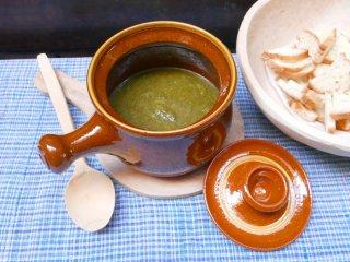 スペイン ブーニョ窯 片手鍋
