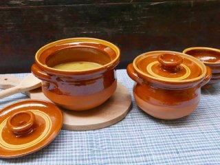 スペイン ブーニョ窯 両手鍋