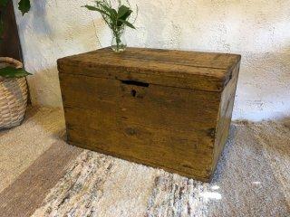 トルコの古い木箱