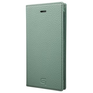 iPhone 7 / 8 用 GRAMAS Shrunken-calf Full Leather Case ブルー