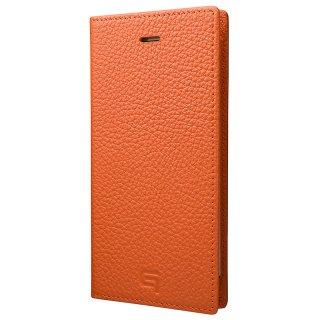 iPhone 7 Plus / 8 Plus用 GRAMAS Shrunken-calf Full Leather Case オレンジ