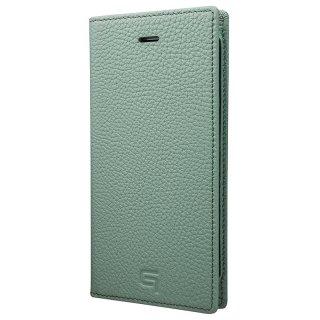 iPhone 7 Plus / 8 Plus用 GRAMAS Shrunken-calf Full Leather Case ブルー