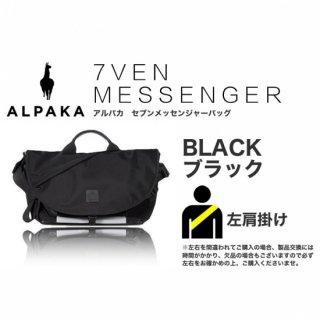 【即納可能】 7VEN メッセンジャーバッグ ブラック 左掛け