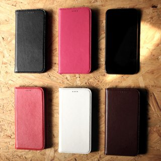 【即納可能】Fierre Shann Genuine Leather Diary Case Japan Limited Edition