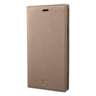 iPhone X / XS / XS Max / XR 用 GRAMAS Shrunken-calf Full Leather Case トープ
