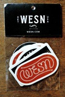 【新発売・即納可能】WESN OD ステッカー