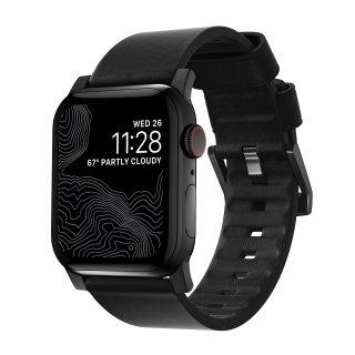 【再入荷・即納可能・Apple Watch Series 1~5 対応】Apple Watch 42/44 mm 用 Active Strap ブラック(ブラック金具)