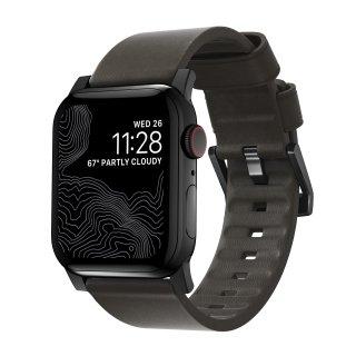 【即納可能・Apple Watch Series 1から5 対応】Apple Watch 42/44 mm 用 Active Strap モカブラウン(ブラック金具)<img class='new_mark_img2' src='https://img.shop-pro.jp/img/new/icons61.gif' style='border:none;display:inline;margin:0px;padding:0px;width:auto;' />