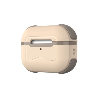 【即納可能】SOLiDE Pocket for AirPods Pro ベージュ × ブラウン<img class='new_mark_img2' src='https://img.shop-pro.jp/img/new/icons5.gif' style='border:none;display:inline;margin:0px;padding:0px;width:auto;' />