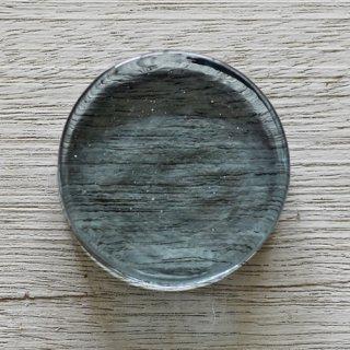 丸型箸置き 青緑