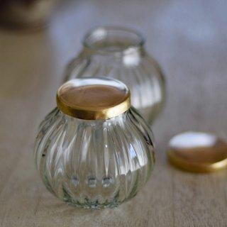 リコリス(リサイクル瓶のクリア・真鍮)