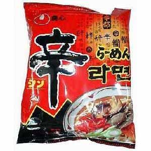 本場韓国即席麺(辛ラーメン)【常温・冷蔵可】