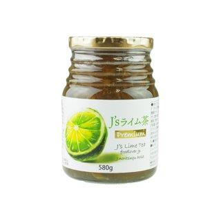 料理研究家・J.ノリツグさんプロデュースJ's ライム茶580g(プロが選んだライム茶580g瓶入り×1本)【常温・冷蔵可】【送料無料】