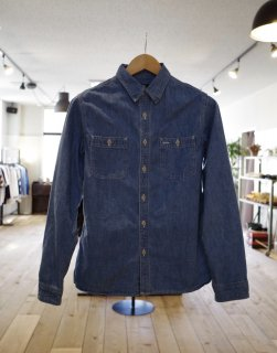 <img class='new_mark_img1' src='//img.shop-pro.jp/img/new/icons16.gif' style='border:none;display:inline;margin:0px;padding:0px;width:auto;' />GUNG HO   CHAMBRAY WORK SHIRTS
