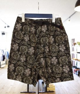 GRAMiCCi   BOTANICAL ZIPPER SHORTS