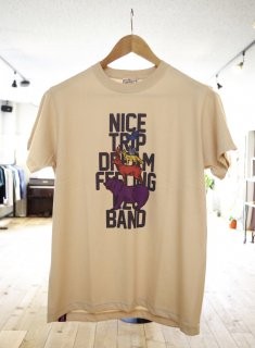 Natural bicycle   NICE TRIP EZO BAND TEE
